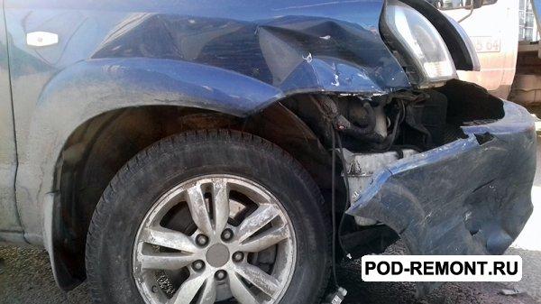 Продам а/м Hyundai Tucson битый