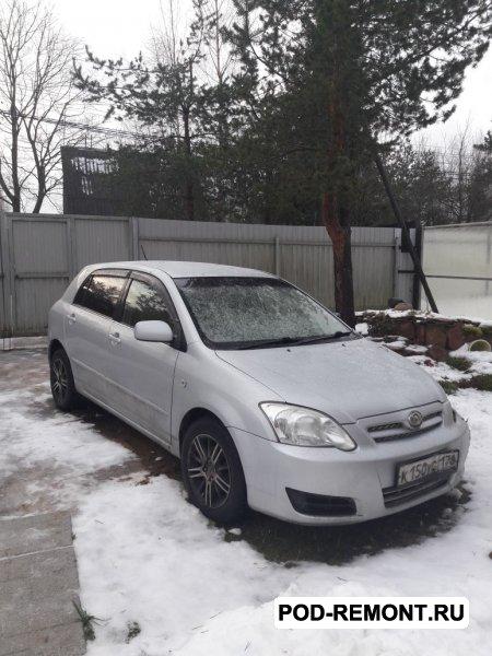 Продам а/м Toyota Allex требующий вложений